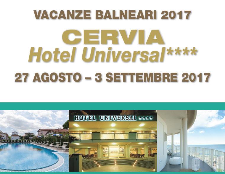 Vacanze balneari a Cervia 2017