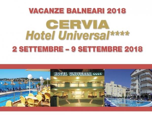 Vacanze balneari a Cervia 2018