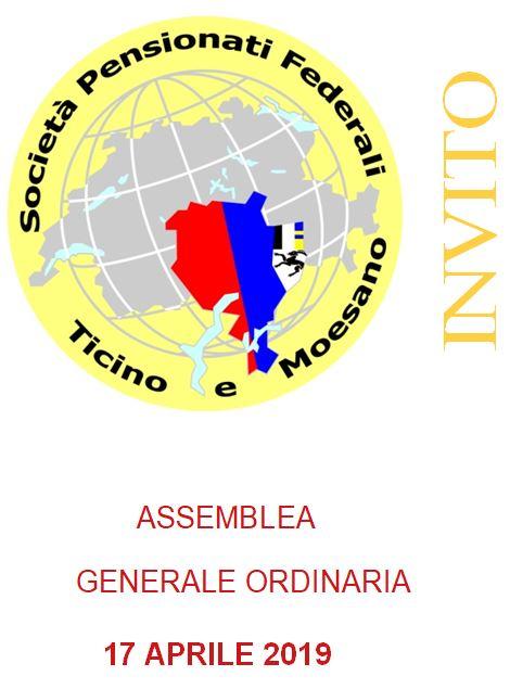Assemblea Generale Ordinaria 17 Aprile 2019