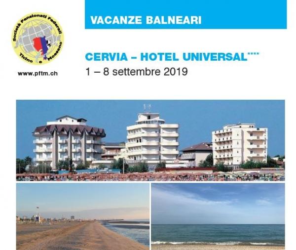 Vacanze balneari a Cervia 2019