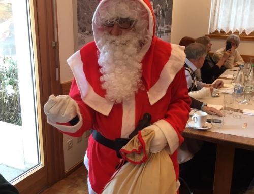 Pranzo nell'imminenza delle feste di fine anno – Resoconto