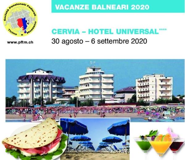 Vacanze balneari a Cervia 2020