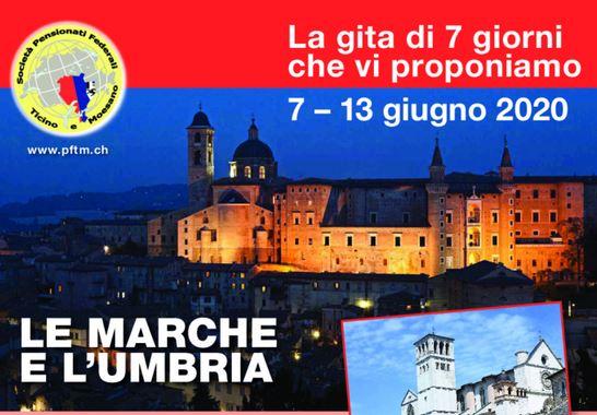 Gita nelle Marche e Umbria